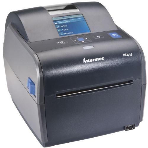 Honeywell Pc43d 4In Direct Thermal Desktop Printer. Includes Lcd Display And Rea