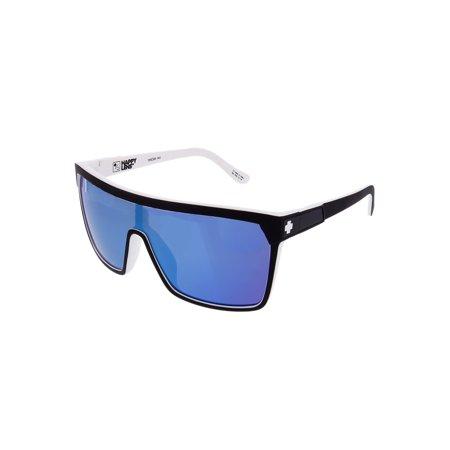 Spy Sunglasses 670323209437 Flynn Scratch Resistant Lenses Shield Shape, (Where Spy Sunglasses Made)