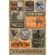 Cardstock Stickers-Bird Hunting
