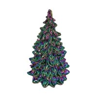 Holiday Time Iridescent Tree Ornament