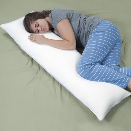 Body Pillow With Removable Cover