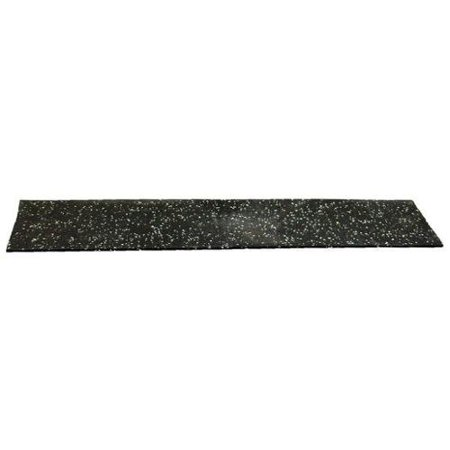 8501-1/16K Recycled Rubber, 1/16 In Thick, 48x48 In