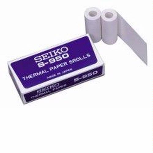 Seiko S149 300 Memory Stopwatch Thermal Paper, Pack of 5 Rolls