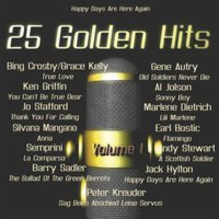 25 Golden Hits of the 40's - 50's Vol. 1