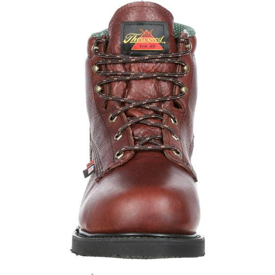 b33d0ce1e56 THOROGOOD - Thorogood Unisex Steel Toe Internal Met Guard Work Boot ...