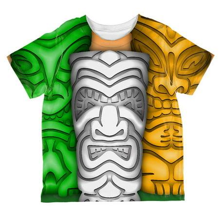 St Patricks Day Tiki Glass Party All Over Toddler T Shirt](St Patricks Day Glasses)