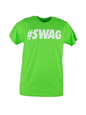 438cc44c5a1ff4 Product Image Urban Pipeline  Swag Swag Lime Green Text Retro Mens Adult  Tshirt Tee XLarge