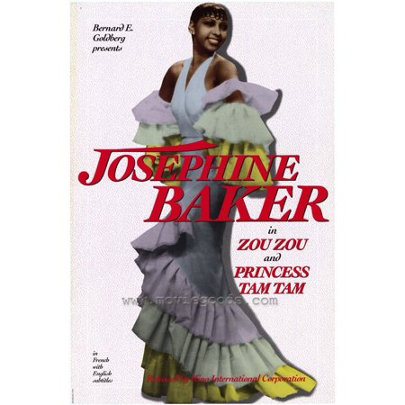 Josephine Baker (2000) 11x17 Movie Poster
