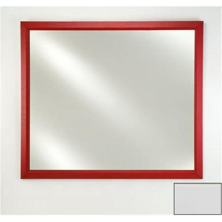 Left Hand Plain Mirror (Afina Corporation FM2436ARLWT 24 in.x 36 in.Signature Plain Mirror - Arlington White )