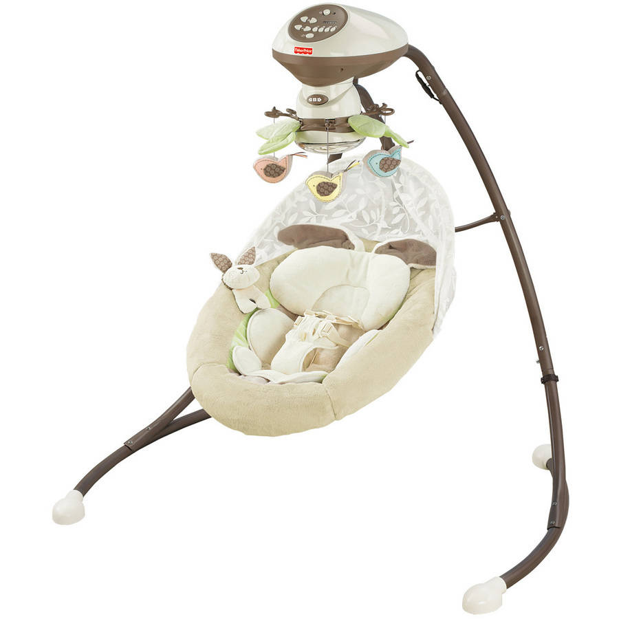 Fisher Price My Little Snugabunny Cradle 'n Swing