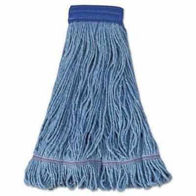 Boardwalk Super Loop Mop Head, Cotton/Synthetic, XL, Blue, 12 (Xl Super Loop)