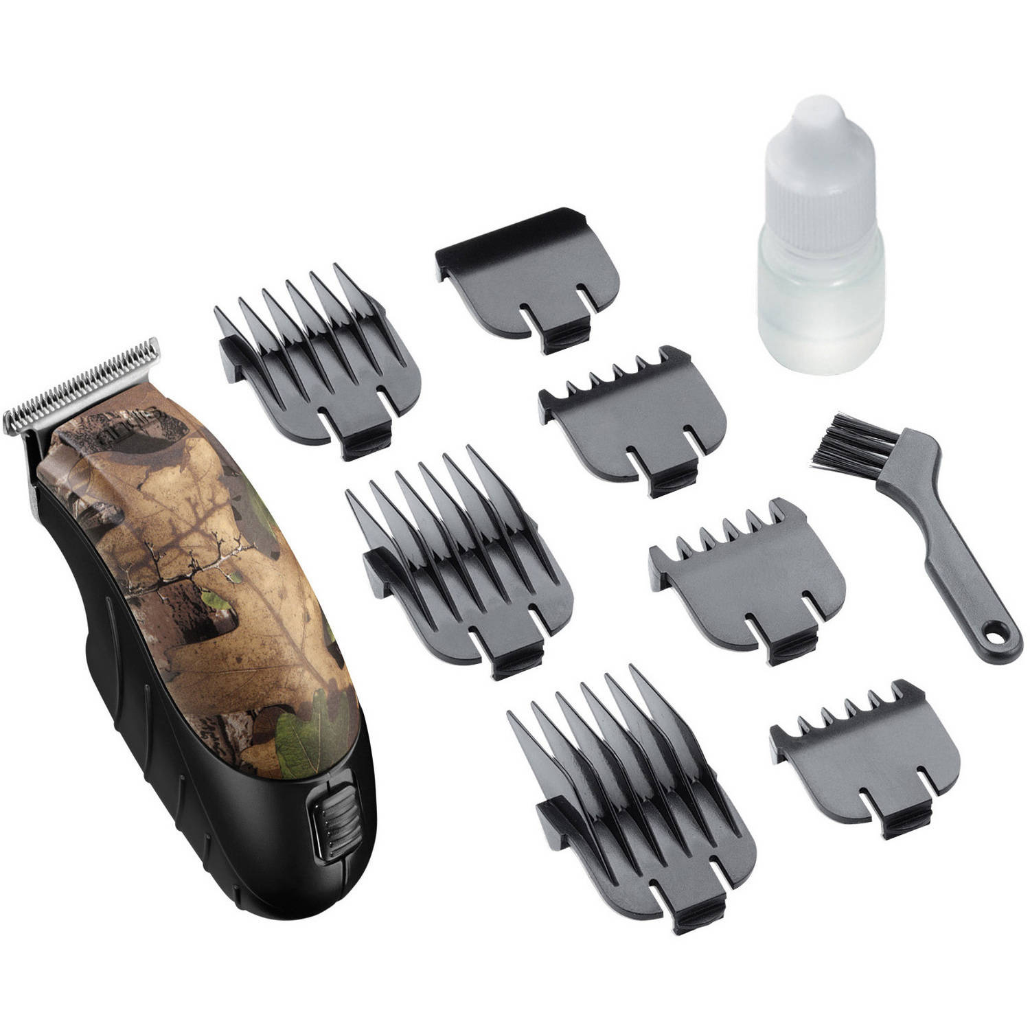 Andis Men's Realtree Camo Trim 'N Go Cordless Personal Trimmer Kit, 22580, 10 Pieces