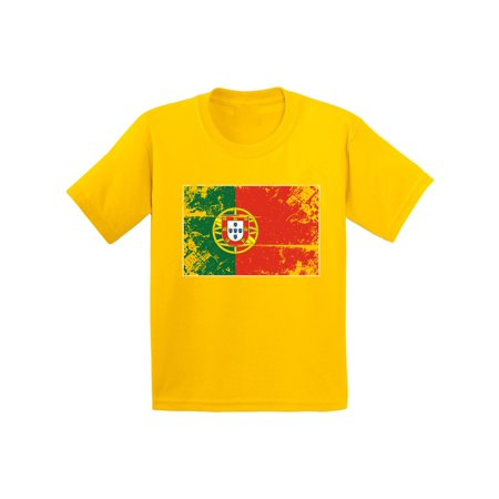 Awkward Styles Portugal Flag Shirt for Kids Portuguese Football Youth Shirt](Kids Football Suits)