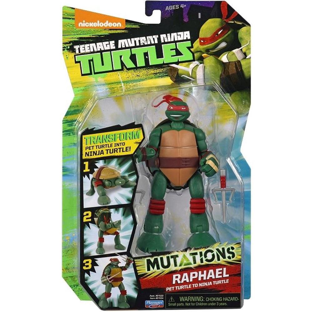 Teenage Mutant Ninja Turtles Pet to Ninja Turtle Raph