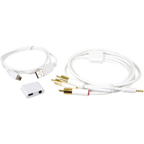 i.Sound - Cable kit - white - for Apple iPad/iPhone/iPod (Apple Dock)