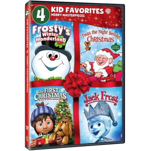 4 Kid Favorites: Merry Masterpieces Frosty's Winter Wonderland   'Twas The Night Before Christmas   The First... by WARNER HOME VIDEO