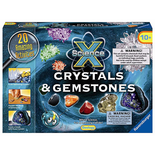 Ravensburger Science X Kit, Crystals & Gemstones