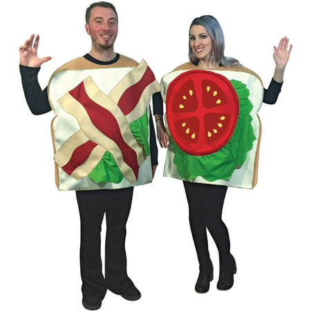 BLT Couples Neutral Adult Halloween Costume (Celebrity Couples For Halloween Ideas)