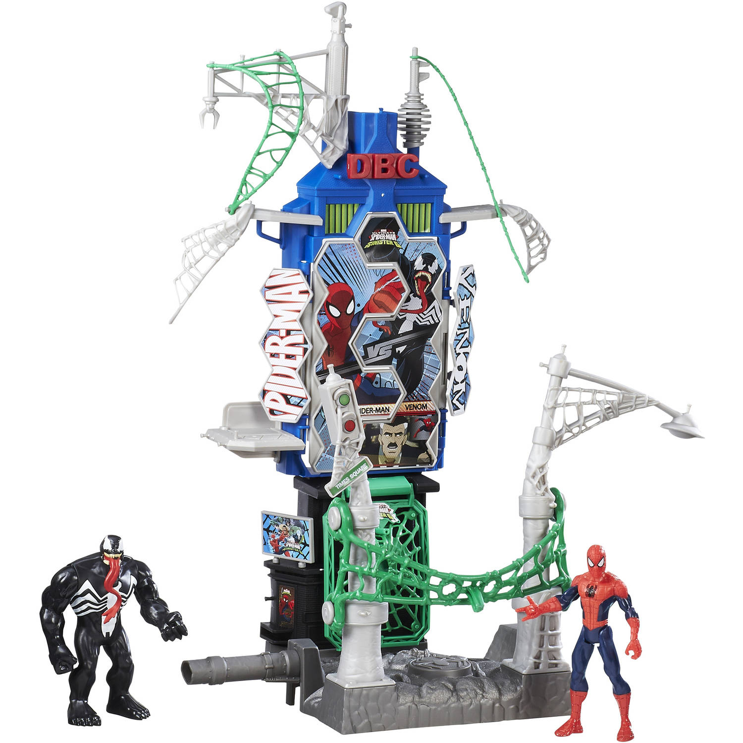 Marvel Spider-Man Web City Showdown Play Set