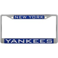 New York Yankees WinCraft Laser Inlaid Metal License Plate Frame - No Size