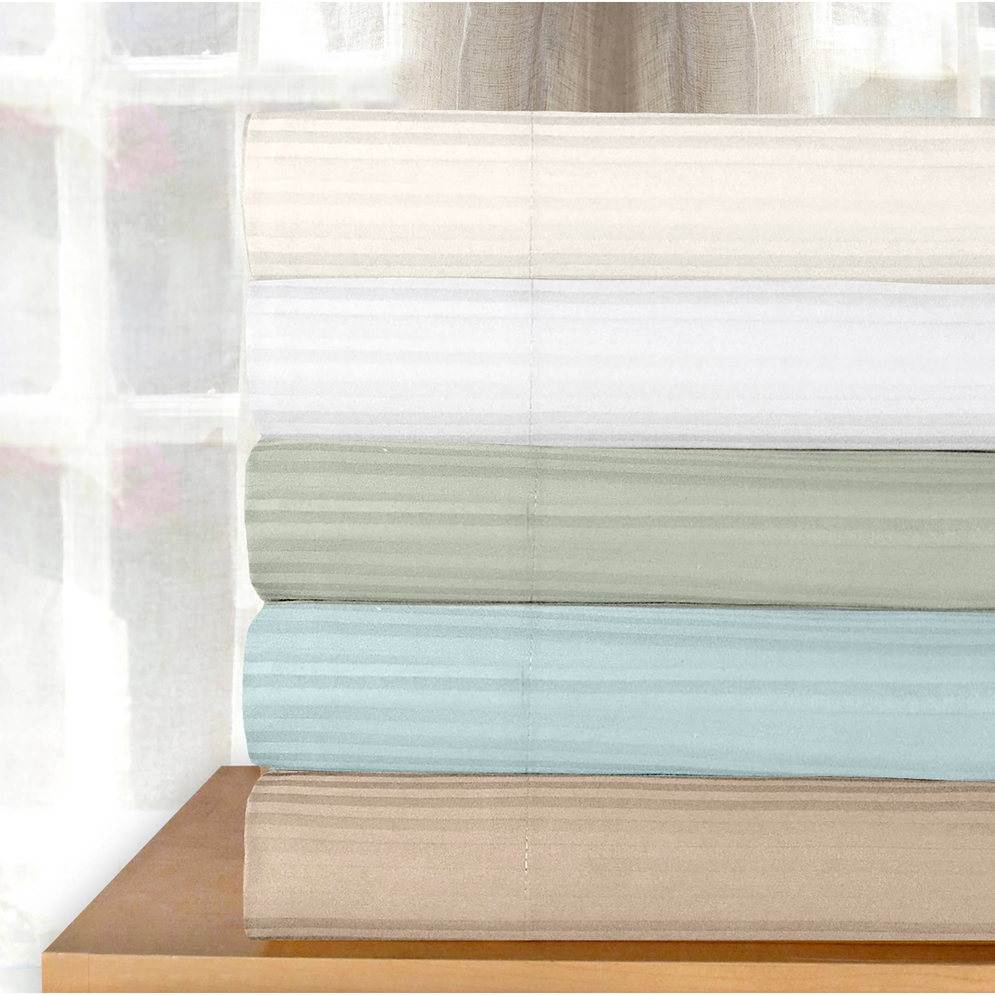 Veratex Medici Dobby Stripe Sheet Set