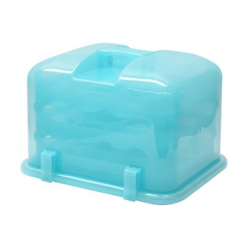 Cupcake Courier 36-Cupcake Plastic Storage Container, Sof...