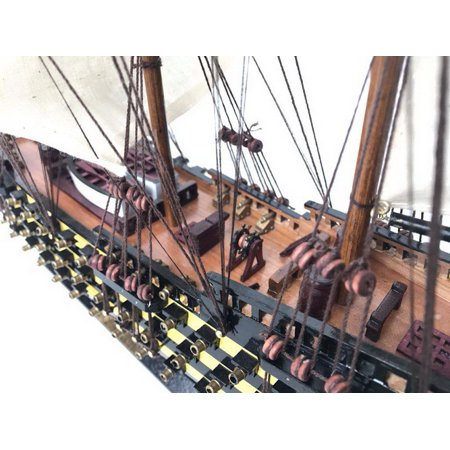 wooden hms victory limited tall model ship 24 inch