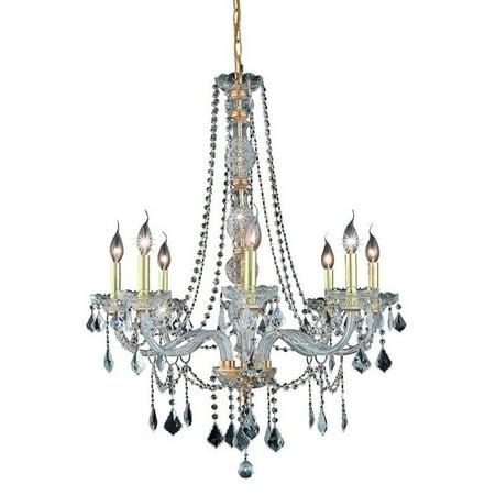 "Elegant Lighting Verona 28"" 8 Light Spectra Crystal Chandelier - image 1 de 1"