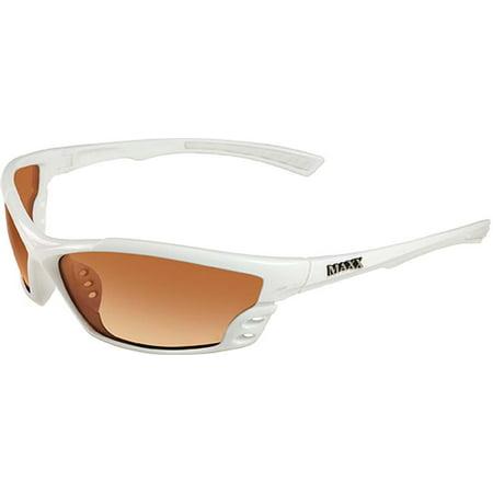 Maxx Sunglasses Cobra HDP White Frame Amber (Amber Sun Glasses)