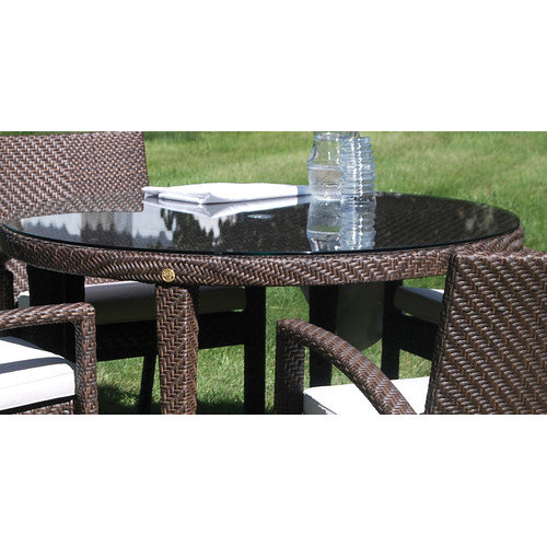 Hospitality Rattan Soho Patio Glass Round Top for 30'' Table