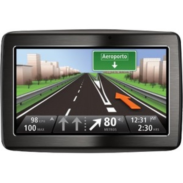"Tomtom VIA 1530TM Automobile Portable GPS Navigator - 5"" - (Refurbished)"