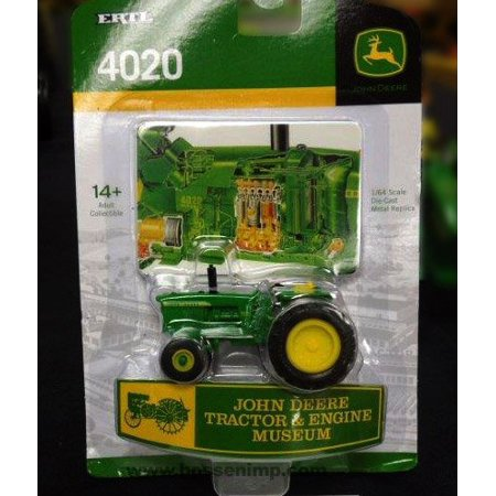 1/64th 4020 - 2014 Tractor & Engine Museum Edition, John Deere Tractor & Engine Museum Edition for 2014 By John