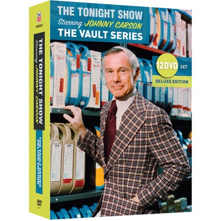 The Tonight Show Starring Johnny Carson: The Vault Series: 12 DVD Set