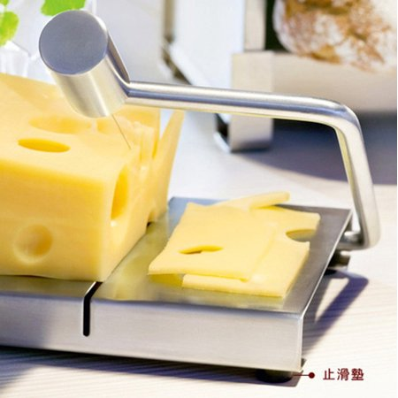 Cheese Slicer Cutter Serving Board Stainless Steel Cake
