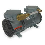 GAST MAA-P251-MB Compressor/Vacuum Pump,1/8 HP,60 Hz,115V