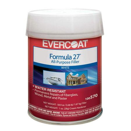 Evercoat Formula 27 All-Purpose Filler - Quart Formula 27 Filler