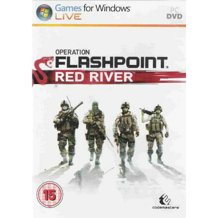 THQ Operation Flashpoint: Red River - First Person Shooter Retail - DVD-ROM -