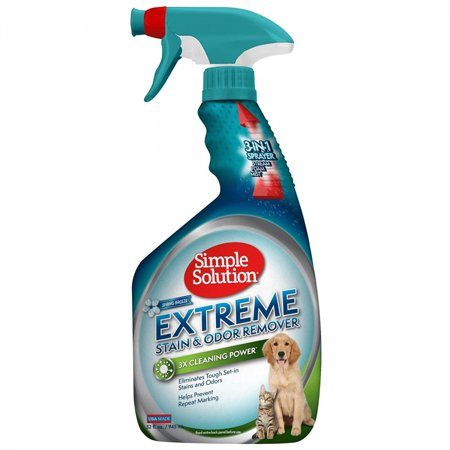 Simple Solution Extreme Stain & Odor Remover - Spring Breeze 32 oz - Pack of 2