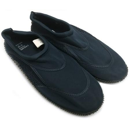 Fresko Men's Aqua Shoes Navy Size 10 - Aqua Blue Jordans