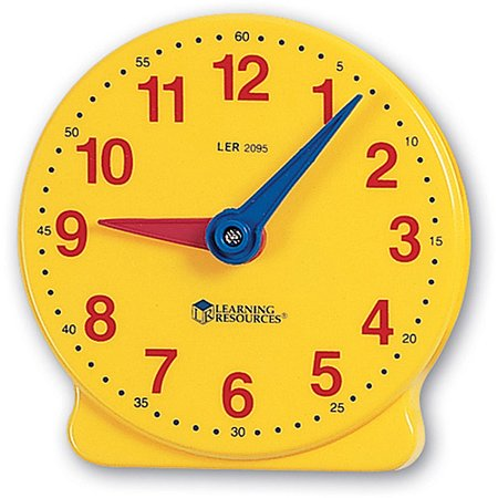 Learning Resources Big Time Student Clock, 12 Hour - Walmart.com