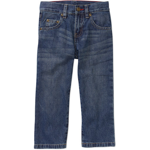 Faded Glory Baby Boys' 5-Pocket Jeans