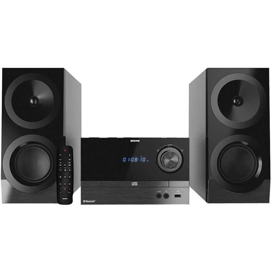 Ion Ias01 Compact Bluetooth Shelf Hi Fi Fm Stereo System