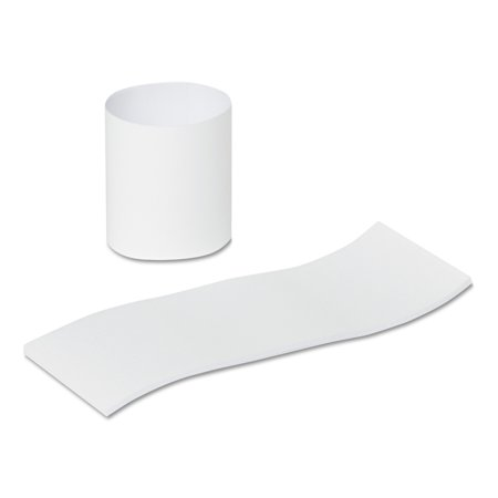 Royal Paper Products RNB4M Napkin Bands, Paper, White, 1 1/2