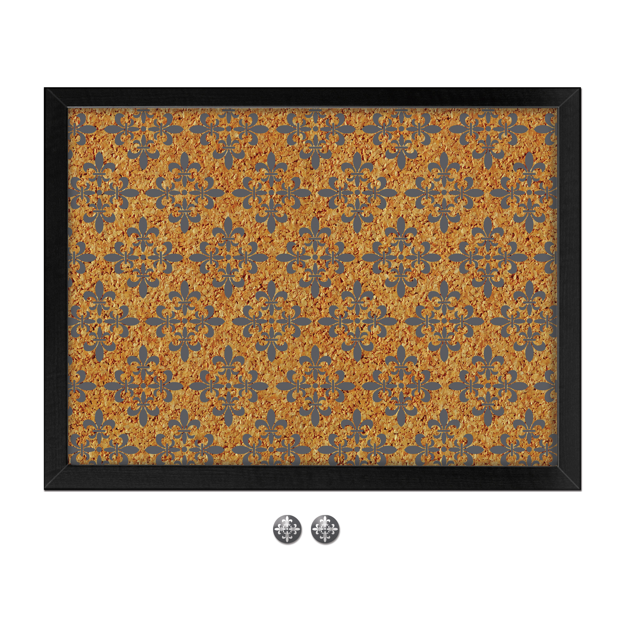 WallPops Veranda Printed Cork Board