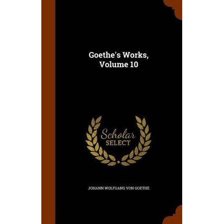 Goethe's Works, Volume 10 - image 1 of 1