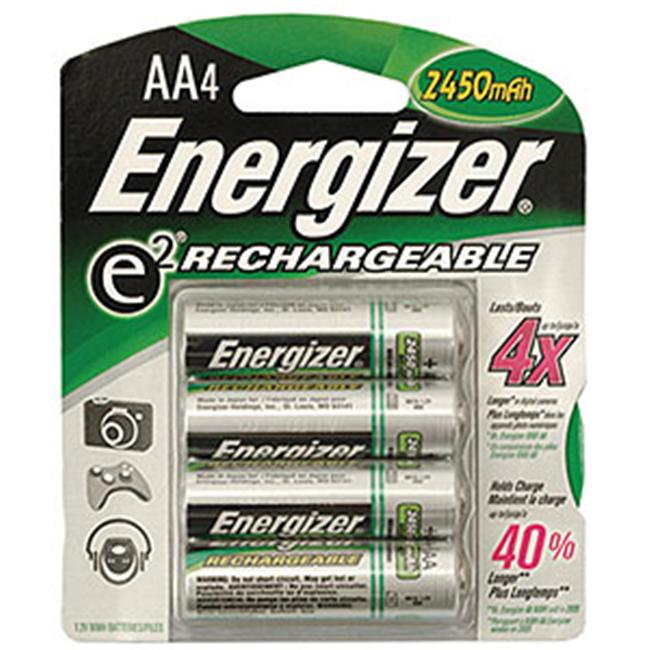 Energizer Rechargeable AA Batteries  2500mah  4pk