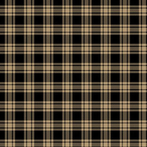 Homespun Basic Plaid Fabric, Black
