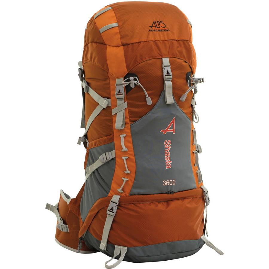 ALPS Mountaineering Shasta 3600 Internal Frame Pack, Rust