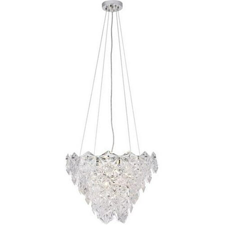Elegant Lighting 1708D19C 14.4 x 19.7 in. London 6 Light Chrome Pendant - image 1 of 1