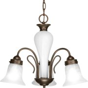 Progress Lighting P4390 Bedford Three Light Single-Tier Down Lighting Chandelier
